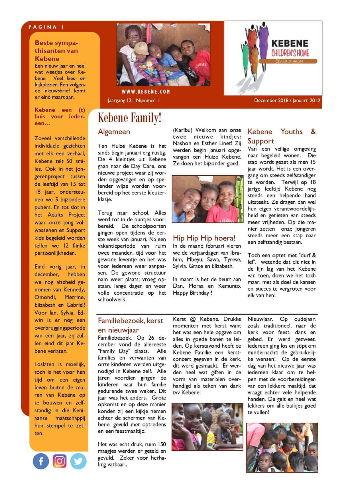 4db86b8e81397e Nieuwsbrief Kebene – KEBENE CHILDREN S HOME